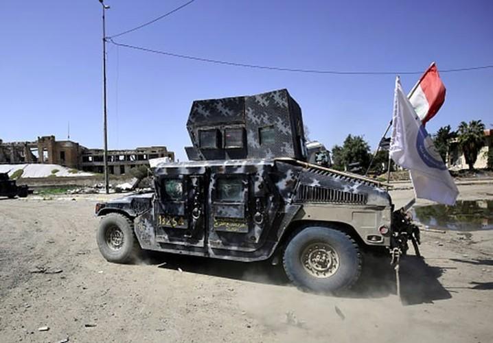 Anh: Luc luong Iraq giai phong 30% Thanh co Mosul-Hinh-3