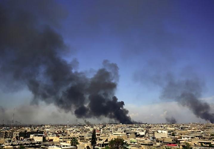 Anh: Luc luong Iraq giai phong 30% Thanh co Mosul-Hinh-5