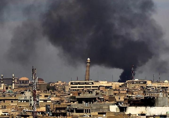 Anh: Luc luong Iraq giai phong 30% Thanh co Mosul-Hinh-9