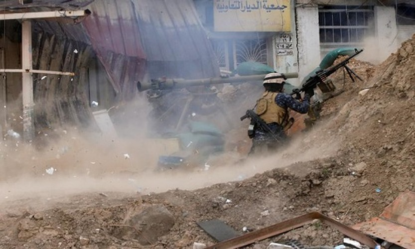 Anh: Canh sat Iraq giao tranh ac liet voi IS o Mosul