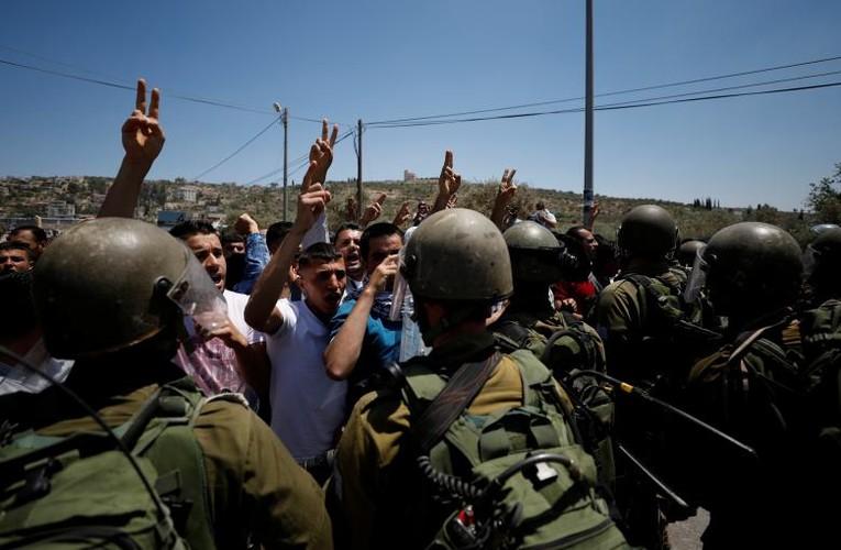 Anh moi nhat cuoc dung do du doi Palestine-Israel