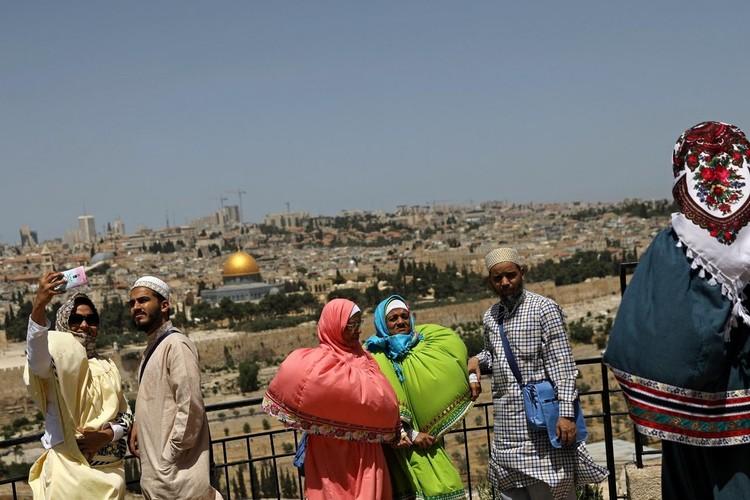 Thanh pho Jerusalem 50 nam sau Chien tranh Sau ngay