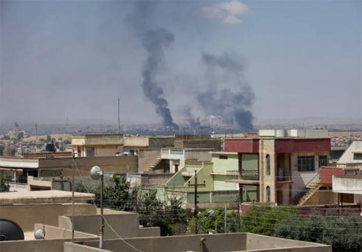 Chum anh Tay Mosul sap sach bong phien quan IS-Hinh-7