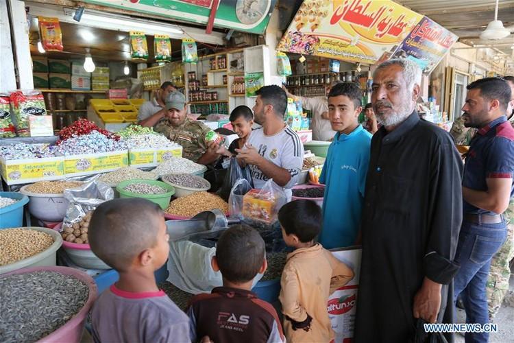 Nhon nhip cuoc song tai khu vuc moi giai phong o Tay Mosul-Hinh-10