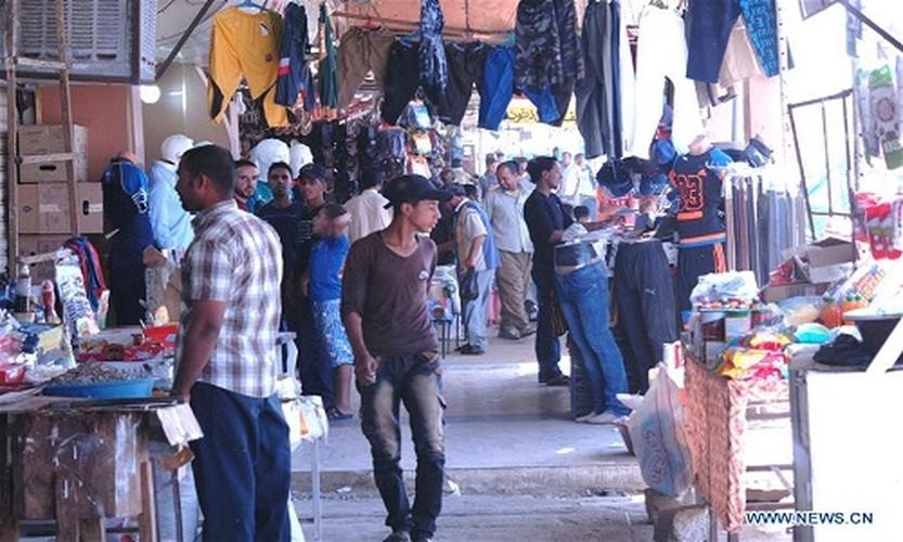 Nhon nhip cuoc song tai khu vuc moi giai phong o Tay Mosul