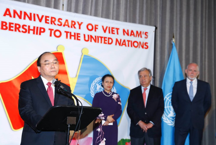Anh: Ngay thu 2 Thu tuong Nguyen Xuan Phuc tham chinh thuc Hoa Ky-Hinh-3