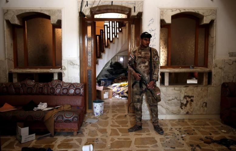 Dot nhap nha tu cua phien quan IS o thanh pho Mosul