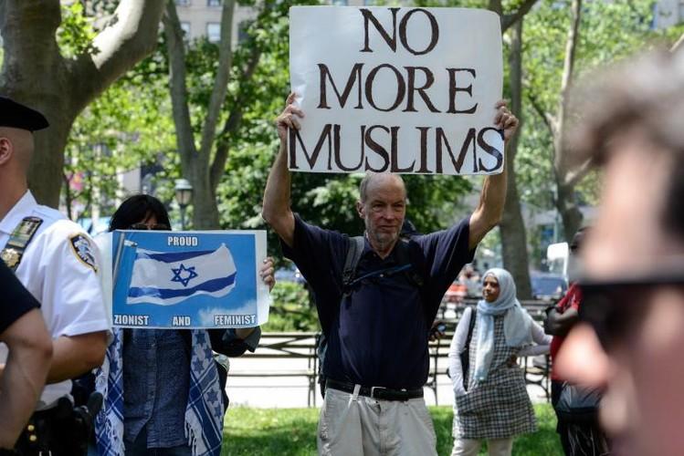 Anh: Bieu tinh du doi chong luat Hoi giao Sharia o My-Hinh-13