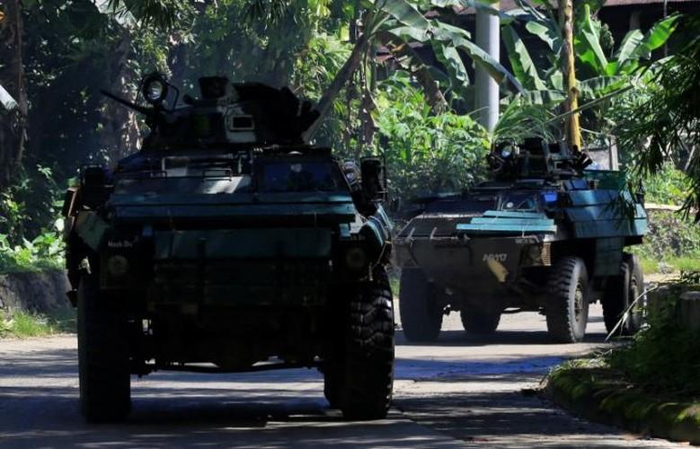 Anh moi nhat chien dich giai phong thanh pho Marawi