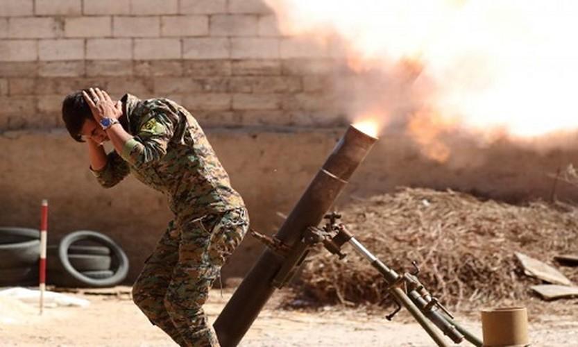 Anh nong hoi chien dich giai phong Raqqa khoi phien quan IS
