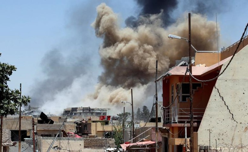 Anh: Phien quan IS sap sup do hoan toan o Mosul-Hinh-5