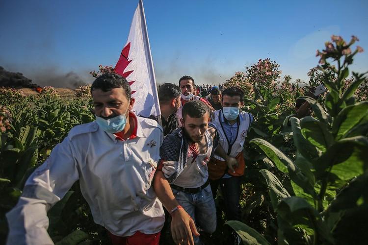 Anh: Bieu tinh du doi o Dai Gaza vi thieu dien-Hinh-5