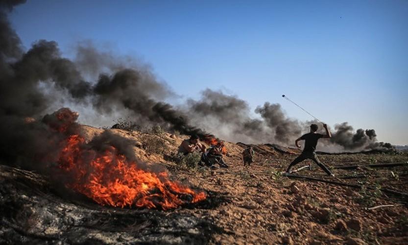 Anh: Bieu tinh du doi o Dai Gaza vi thieu dien-Hinh-6