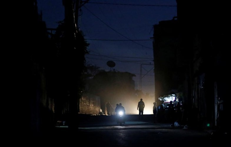 Anh: Bieu tinh du doi o Dai Gaza vi thieu dien-Hinh-9