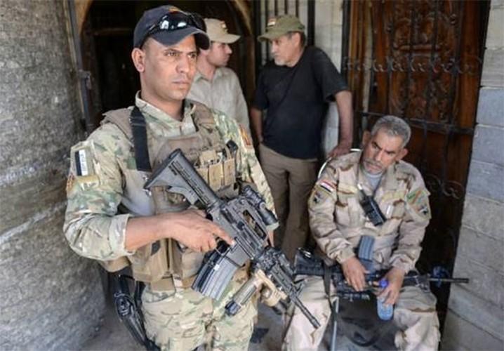 Anh: Luc luong Iraq bat dau tong tan cong vao Thanh co Mosul-Hinh-3