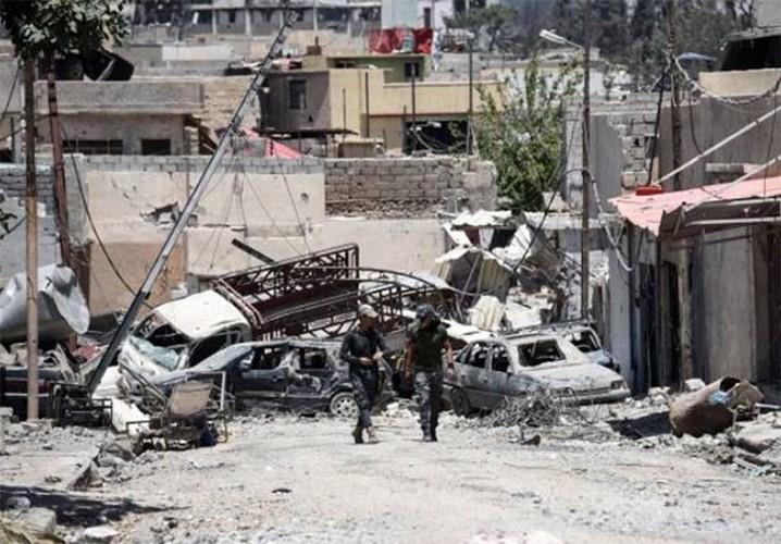 Anh: Luc luong Iraq bat dau tong tan cong vao Thanh co Mosul-Hinh-4