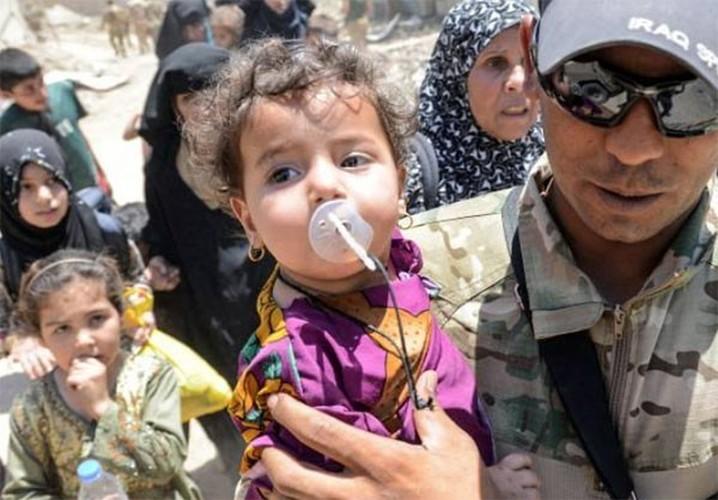 Anh: Luc luong Iraq bat dau tong tan cong vao Thanh co Mosul-Hinh-5