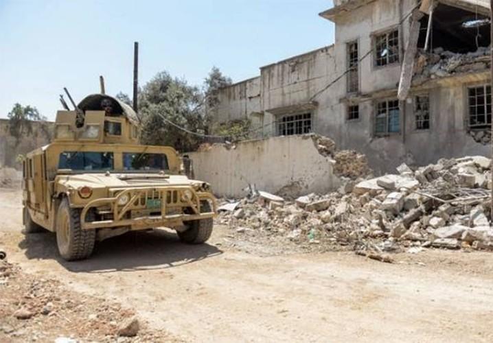 Anh: Luc luong Iraq bat dau tong tan cong vao Thanh co Mosul-Hinh-8