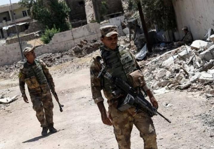 Anh: Luc luong Iraq bat dau tong tan cong vao Thanh co Mosul-Hinh-9