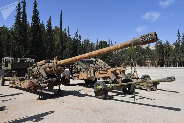 Dot nhap xuong sua chua vu khi cua quan doi Syria o Hama-Hinh-12