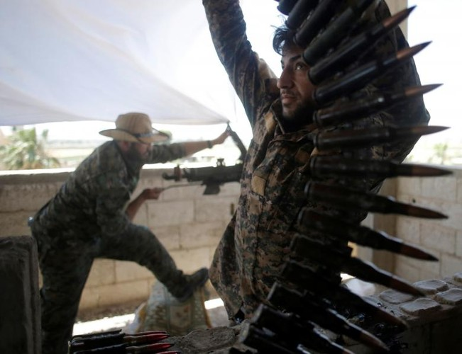 Toan canh nguoi Kurd trong chien dich giai phong Raqqa