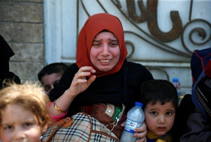 Anh: Giao tranh du doi, dan Iraq keo nhau roi Thanh co Mosul-Hinh-11