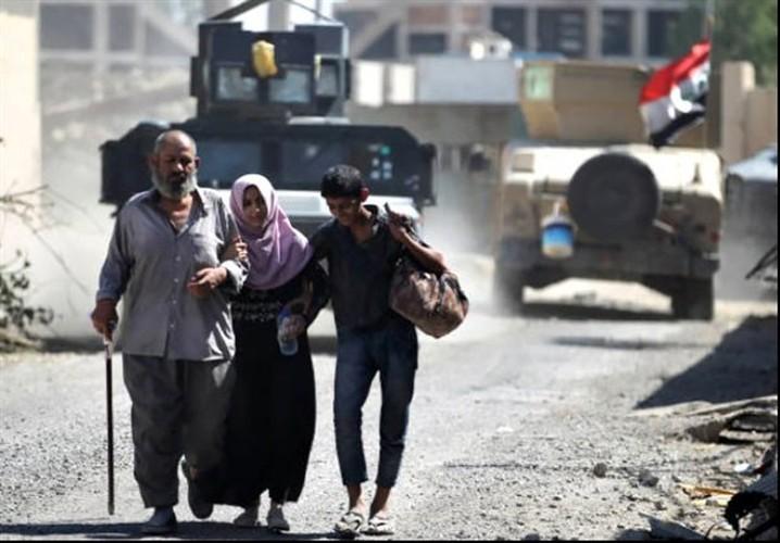 Anh: Giao tranh du doi, dan Iraq keo nhau roi Thanh co Mosul-Hinh-2