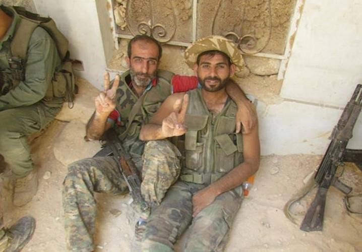 Anh: Quan doi Syria giai phong loat khu vuc o Damascus-Hinh-10
