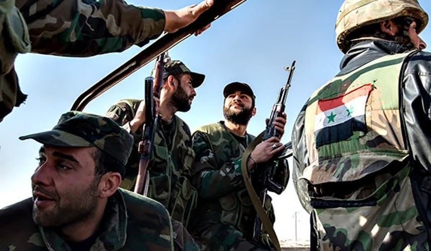 Anh: Quan doi Syria giai phong loat khu vuc o Damascus-Hinh-3