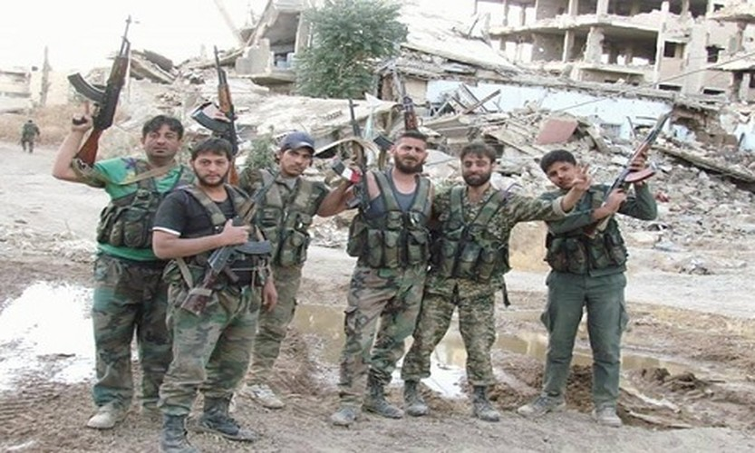 Anh: Quan doi Syria giai phong loat khu vuc o Damascus-Hinh-6
