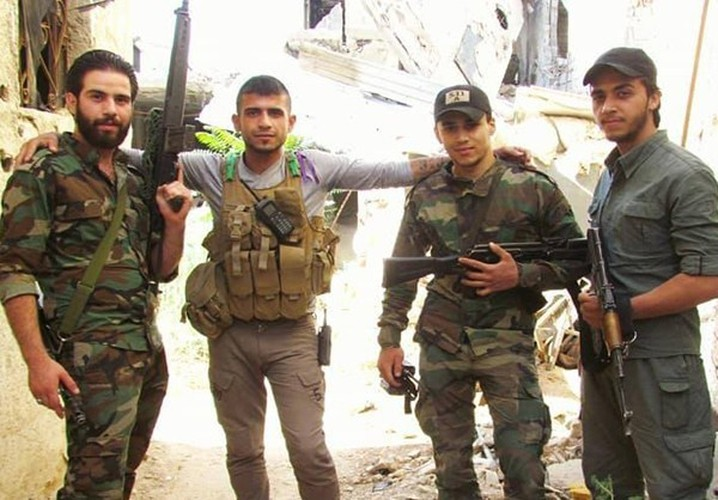 Anh: Quan doi Syria giai phong loat khu vuc o Damascus-Hinh-7