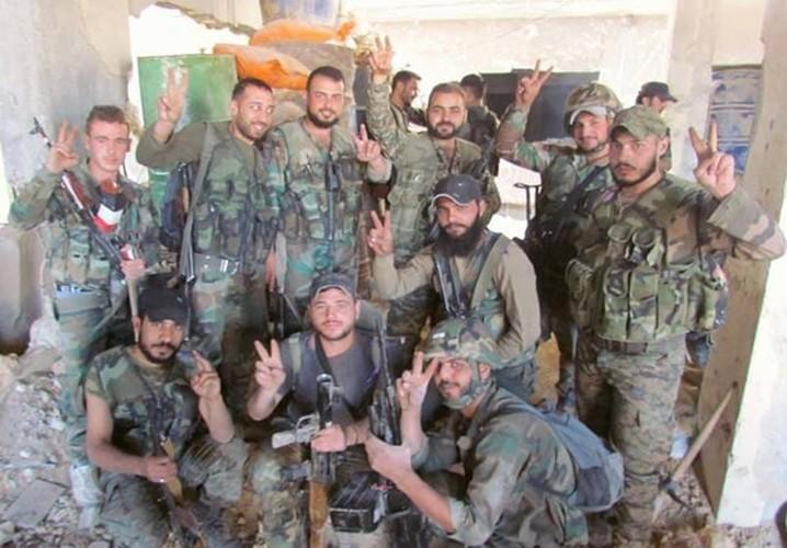 Anh: Quan doi Syria giai phong loat khu vuc o Damascus-Hinh-9