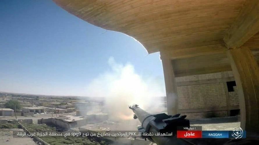 Anh: Phien quan IS khang cu ac liet luc luong SDF o Raqqa-Hinh-6