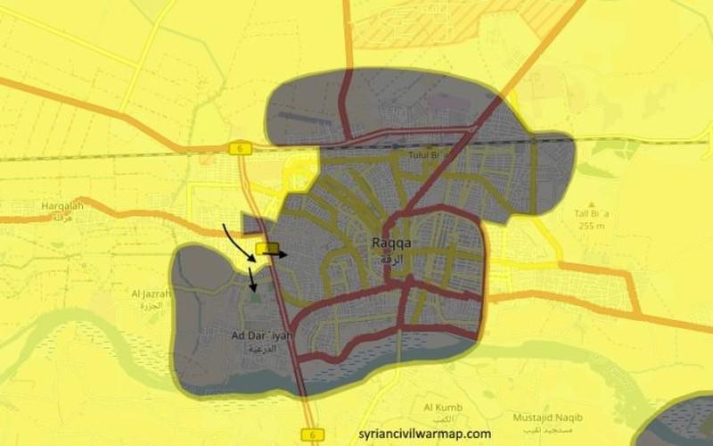 Anh: Phien quan IS khang cu ac liet luc luong SDF o Raqqa-Hinh-7