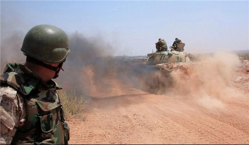 Anh: Phien quan IS khang cu ac liet luc luong SDF o Raqqa-Hinh-8