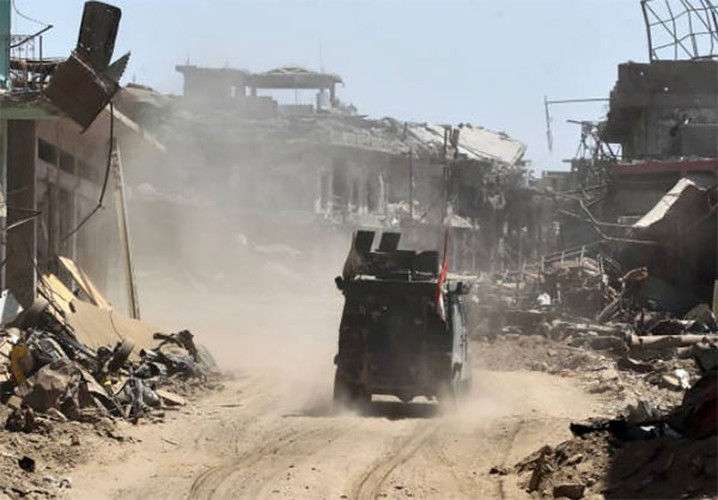 Anh: Quan doi Iraq thoc sau vao khu pho co Mosul-Hinh-2