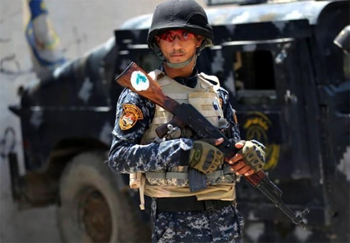 Anh: Quan doi Iraq thoc sau vao khu pho co Mosul