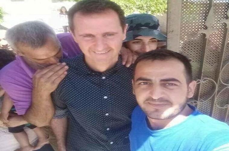 Anh: Tong thong Assad tham binh si Syria bi thuong o Hama-Hinh-11