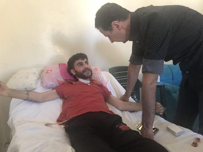 Anh: Tong thong Assad tham binh si Syria bi thuong o Hama-Hinh-6