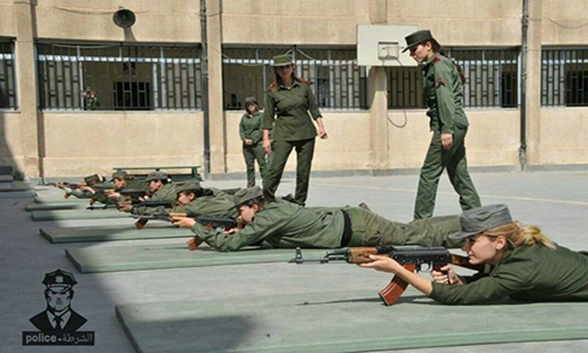"Chum anh nu canh sat Syria xinh dep ""kho luyen"" o Damascus-Hinh-5"