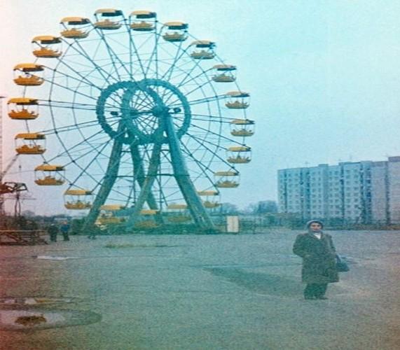 Kinh ngac thi tran Pripyat truoc va sau tham hoa Chernobyl-Hinh-11