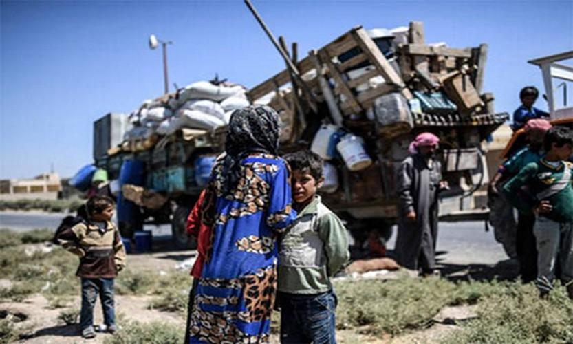 Anh: Giao tranh ac liet, thuong dan Syria lu luot roi Raqqa-Hinh-2