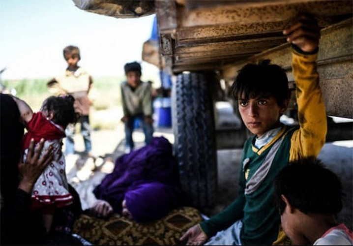 Anh: Giao tranh ac liet, thuong dan Syria lu luot roi Raqqa-Hinh-6