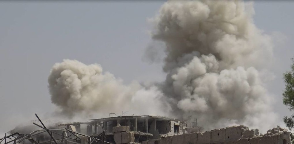 Anh: Dai thang, quan Syria hung huc khi the chien dau o Damascus-Hinh-11