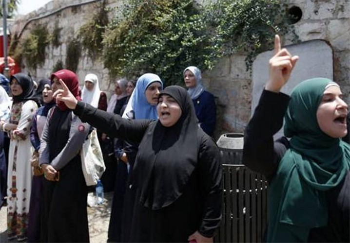 Dung do du doi Palestine-Israel bung phat o Dong Jerusalem-Hinh-5