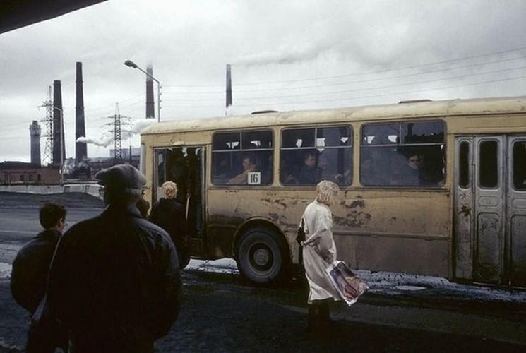 15 anh mau cuoc song o nuoc Nga hoi thap nien 1990