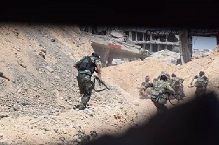 Anh nong hoi quan doi Syria dai thang o Dong Damascus-Hinh-10