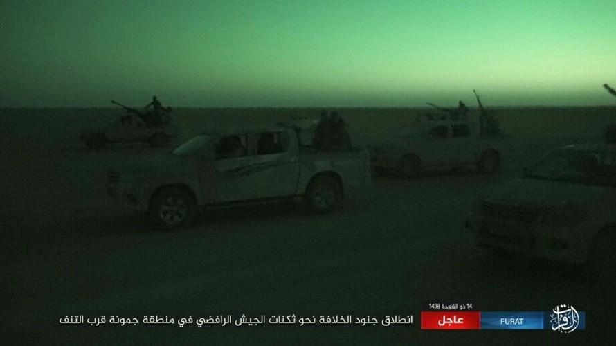 Anh: Phien quan IS tan sat dan quan Iraq o tinh Anbar-Hinh-11