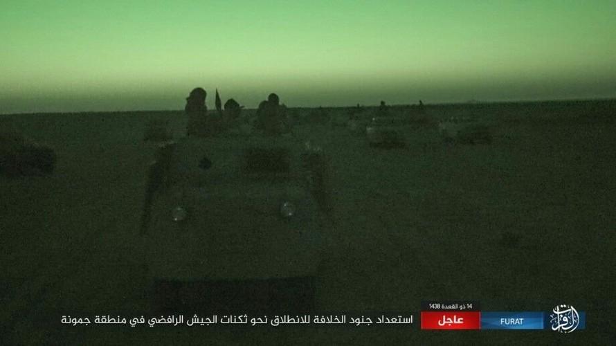 Anh: Phien quan IS tan sat dan quan Iraq o tinh Anbar-Hinh-12