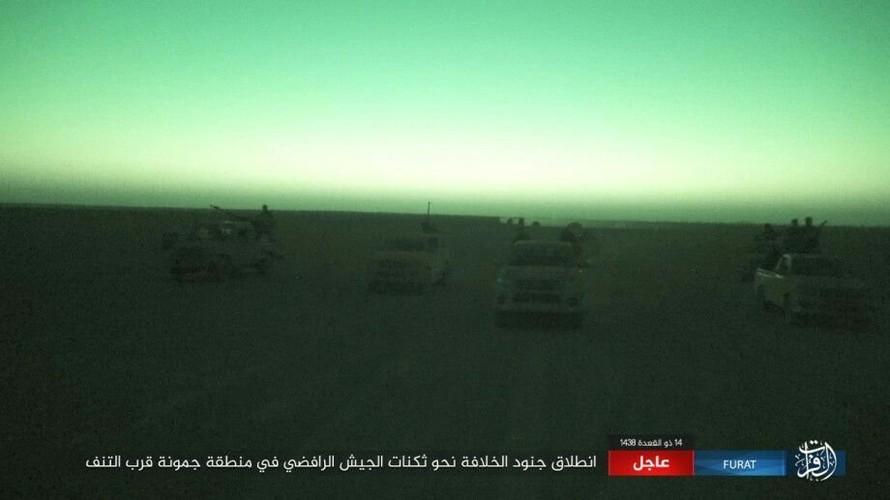 Anh: Phien quan IS tan sat dan quan Iraq o tinh Anbar-Hinh-2